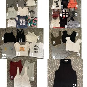 Pick your tops!